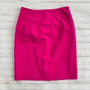 Worthington Hot Pink Pencil Skirt